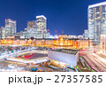 東京駅 夜景 駅の写真 27357585