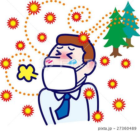 マスク男性 花粉症対策 風邪・インフルエンザ予防 27360489