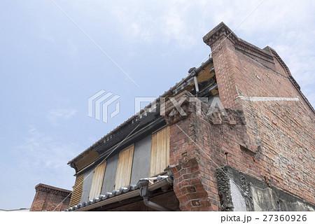 熊本地震で被災倒壊した景観重要建造物「西村邸」平成22年2月26日指定第2号新町古町には明治大正に作 27360926