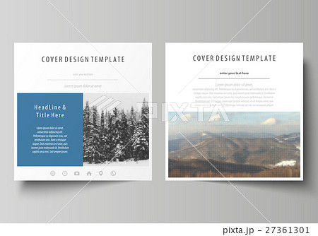 Business templates for square design brochure 27361301