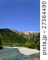 新緑の穂高岳 27364490