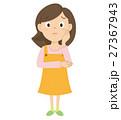 主婦 女性 ベクターのイラスト 27367943