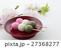 三色団子 団子 桜の写真 27368277