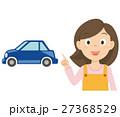 お母さん 車 イラスト 27368529