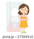 お母さん トイレ 母のイラスト 27369410