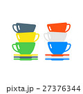 Clean cups and dishware vector illustration. 27376344