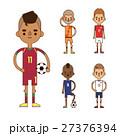 サッカー 選手 人々のイラスト 27376394