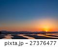 真玉海岸の夕景 27376477