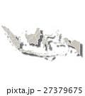 インドネシア 地図 国のイラスト 27379675
