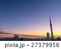 街 空 東京都の写真 27379956