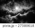 The moon on the dark sky 27380618