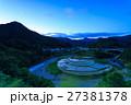 あらぎ島 棚田 水田の写真 27381378