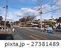 若宮八幡宮に立つケヤキ(茨城県常陸太田市) 27381489