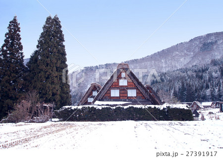 冬の白川郷 27391917