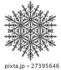 Pretty Vector Round Snowflake 27395646