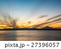 江の島 富士山と夕景 (神奈川県藤沢市) 27396057