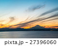 江の島 富士山と夕景 (神奈川県藤沢市) 27396060