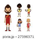 スポーツ 選手 ユニフォームのイラスト 27396371