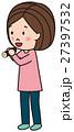 節分 丸かぶり 女性 27397532