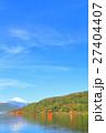 富士山と芦ノ湖 【箱根・紅葉】 27404407