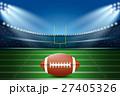 American football on field of stadium. 27405326