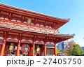 【東京・浅草】 浅草寺宝蔵門 27405750