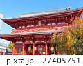 【東京・浅草】 浅草寺宝蔵門 27405751