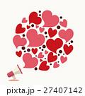 バレンタイン背景 27407142