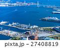 【神奈川県】ベイブリッジと横浜港 27408819