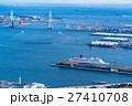 【神奈川県】ベイブリッジと横浜港 27410708