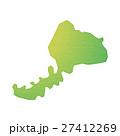 福井県 福井 マップのイラスト 27412269