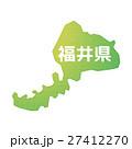 福井県 福井 マップのイラスト 27412270