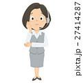 女性 オペレーター OLのイラスト 27414287