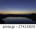 摩周湖 朝焼け 阿寒国立公園の写真 27415820