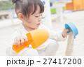 砂遊び 女の子 幼児 27417200