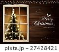 クリスマス アットホーム あいさつのイラスト 27428421