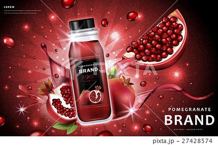 Pomegranate juice ads 27428574