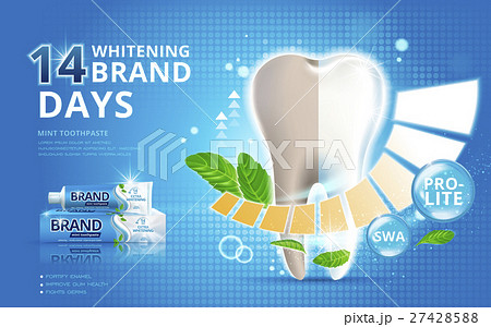 Whitening toothpaste ads 27428588
