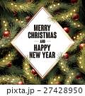 クリスマス デコレーション 装飾のイラスト 27428950