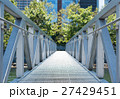 Modern bridge over the river 27429451