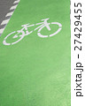 Cycle lane on road surface 27429455