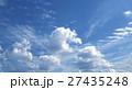 白 くも 雲の写真 27435248