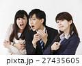 ビジネスマン 男女 ショックの写真 27435605