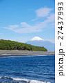 三保の松原 富士山 海の写真 27437993