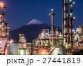 富士山と工場夜景 27441819
