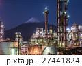 工場夜景 富士山 プラントの写真 27441824