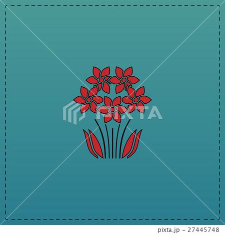 flowers computer symbol 27445748