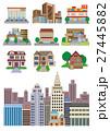 建築アイコン、建築、街並み 27445882