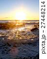 大洗海岸 海 鳥居の写真 27448214