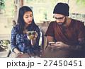 飲み物 コーヒー 夫婦の写真 27450451
